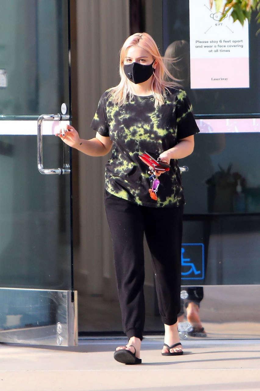 Ariel Winter Leaeves Laseraway Hair Removal Spa Los Angeles
