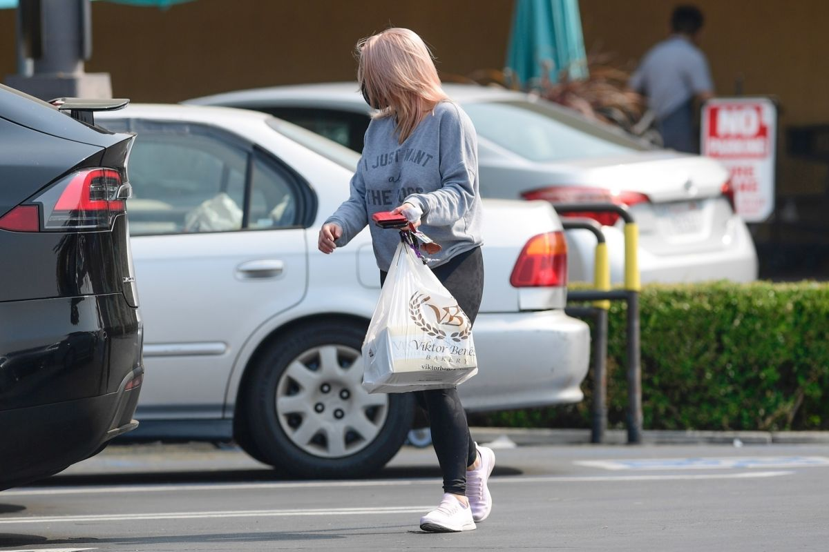 Ariel Winter Out Shopping Los Angeles