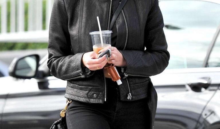Ashley Benson Leaves La Conversacion West Hollywood (23 photos)