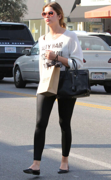 Ashley Benson Out About Los Angeles