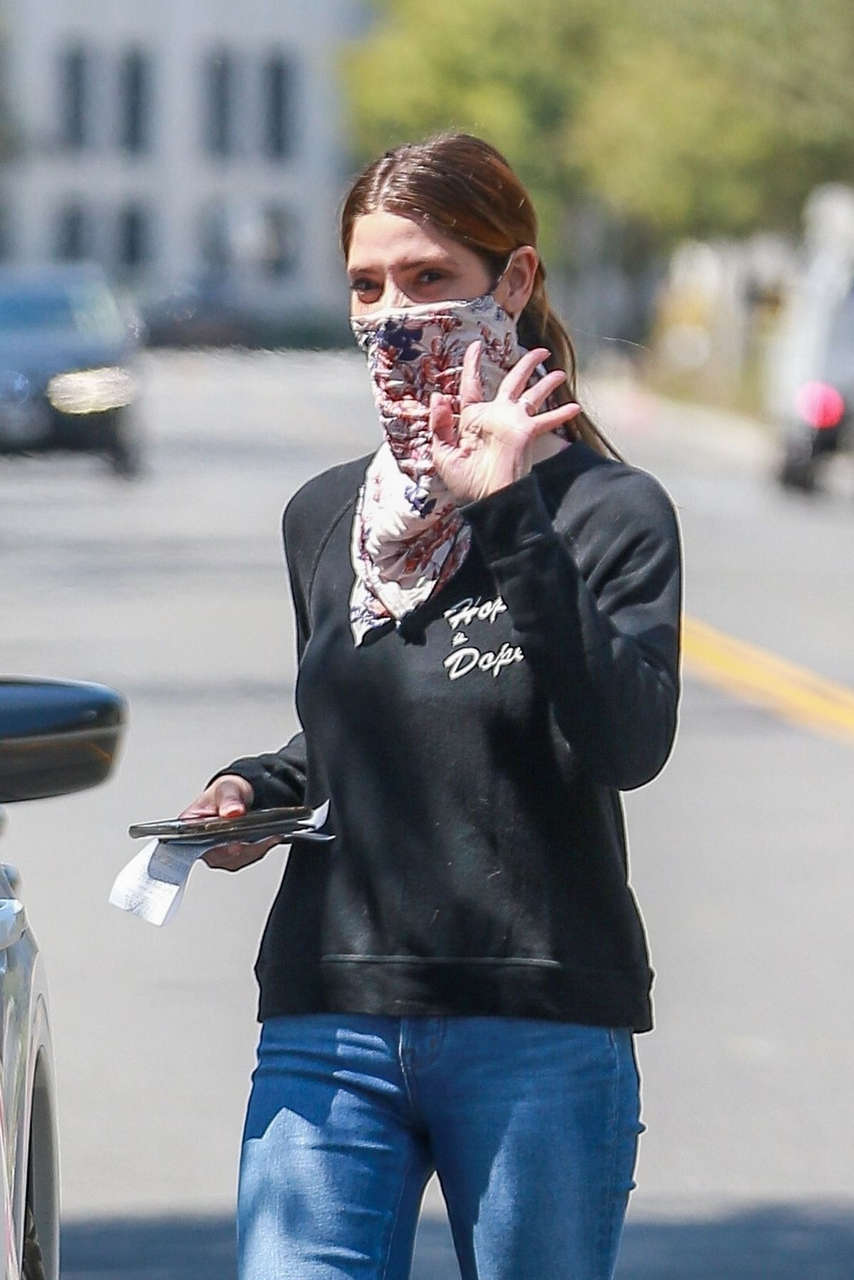 Ashley Greene Out About Beverly Hills