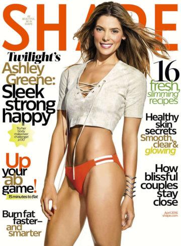 Ashley Greene Shape Magazine April 2016 Issue