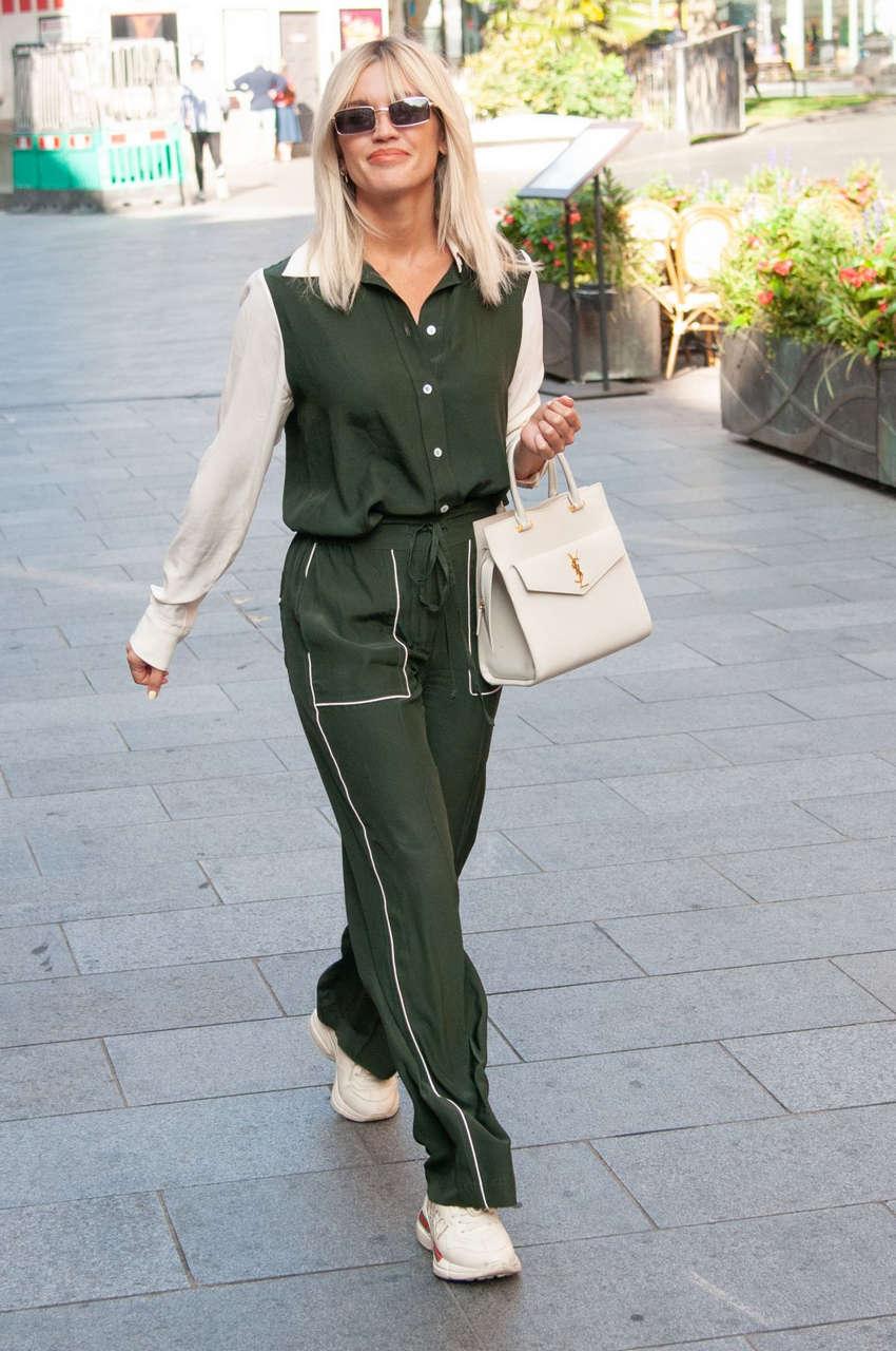 Ashley Roberts Leaves Global Studios London
