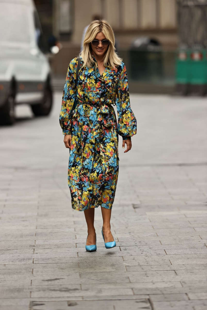 Ashley Roberts Out About London