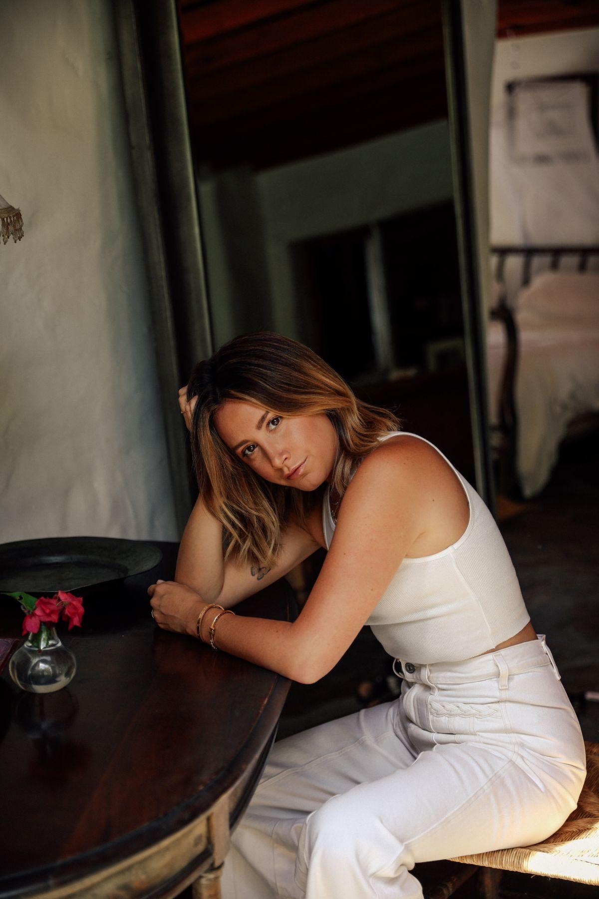 Ashley Tisdale For Frenshe Com August