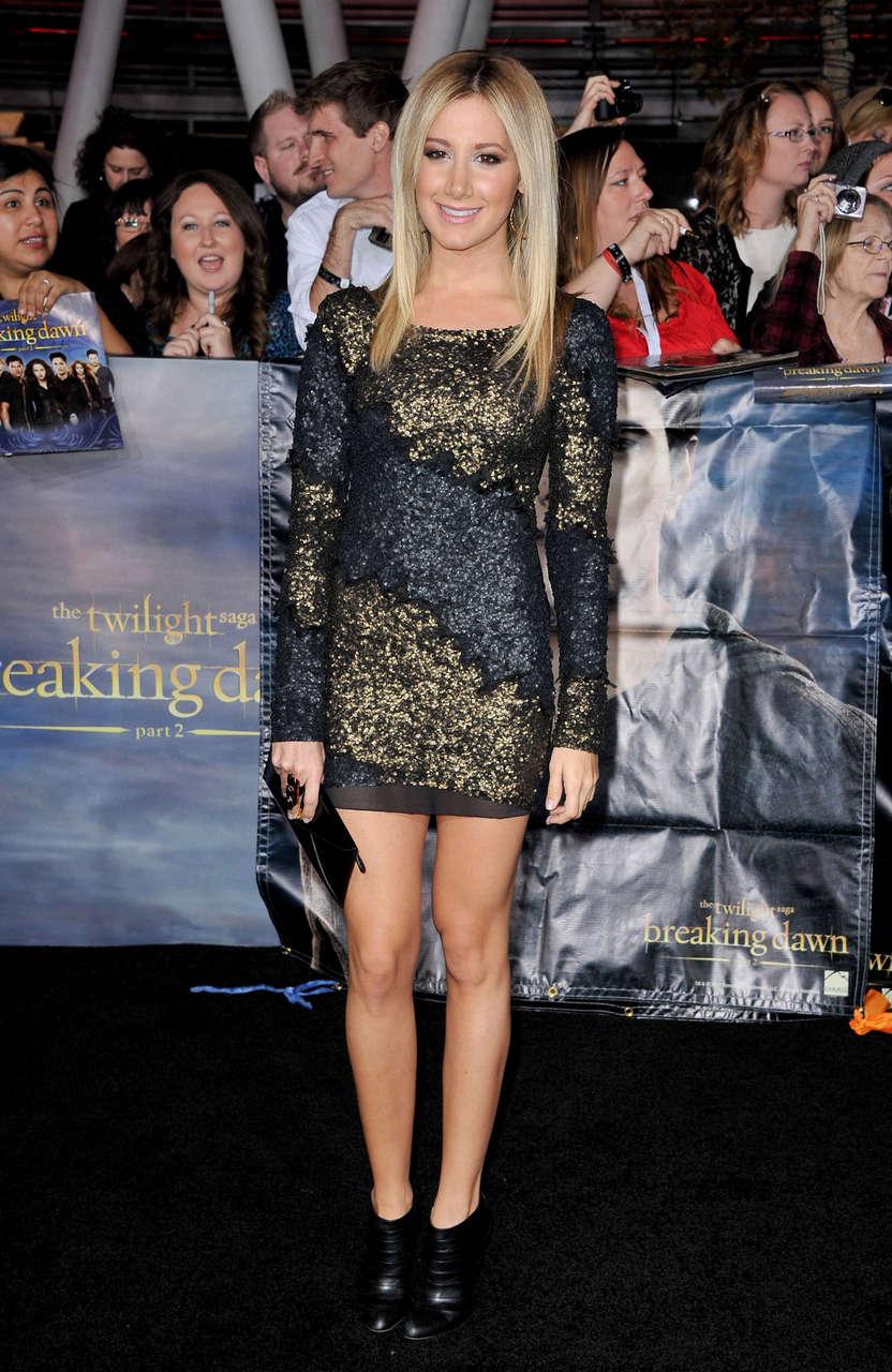 Ashley Tisdale Twilight Saga Breaking Dawn Part 2 Premiere Los Angeles