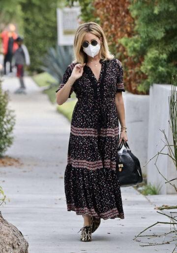 Ashley Tisdale Visit Friend West Hollywood