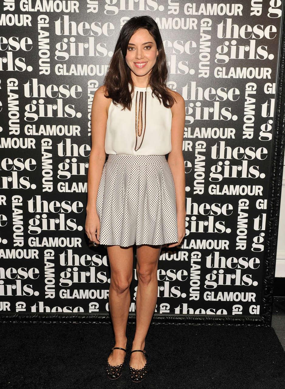Aubrey Plaza Glamour Presents These Girls Joes Pub New York