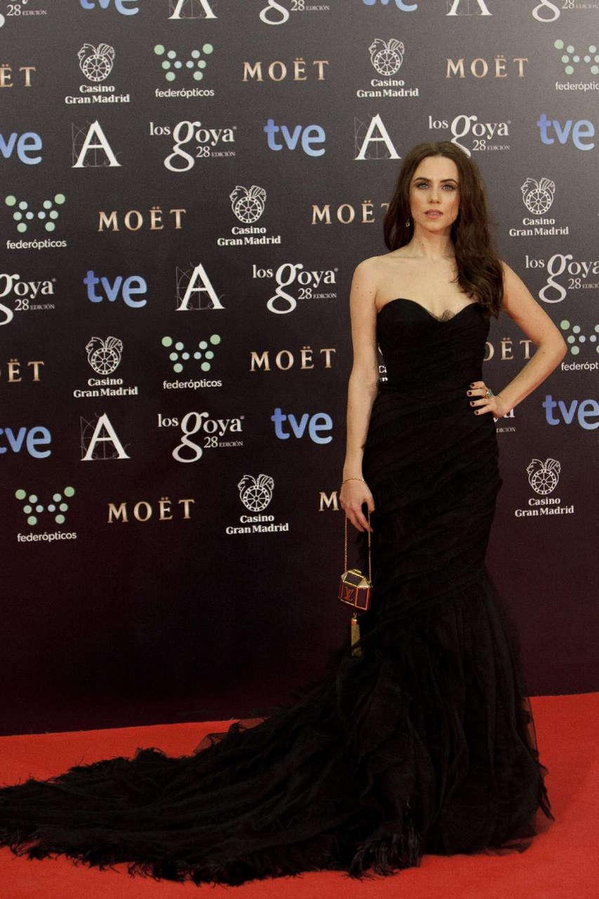 Aura Garrido 2014 Goya Film Awards Madrid