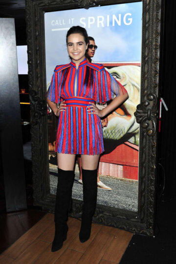 Bailee Madison Call It Spring Hosts Private Event Staples Center Los Angeles