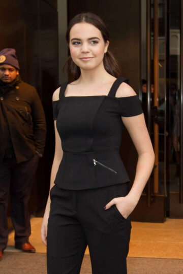 Bailee Madison Leaves Her Hotel New York