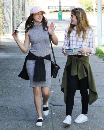 Bailee Madison Mckayley Miller Out Vancouver