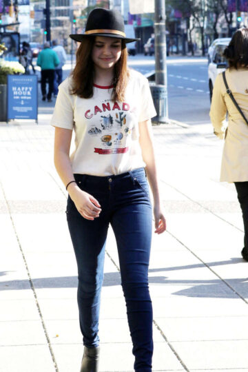 Bailee Madison Out About Vancouver