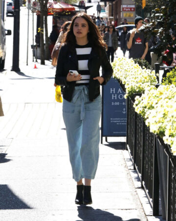 Bailee Madison Out Vancouver