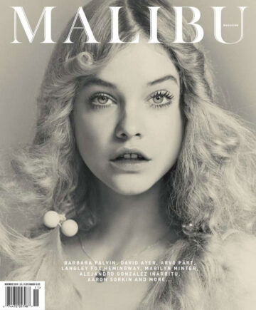 Barbara Palvin Malibu Magazine November 2014 Issue