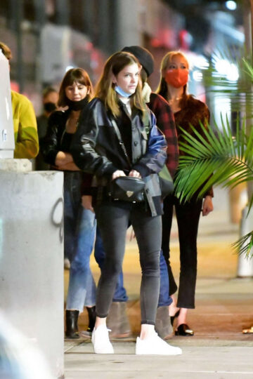 Barbara Palvin Out For Dinner With Friends New York