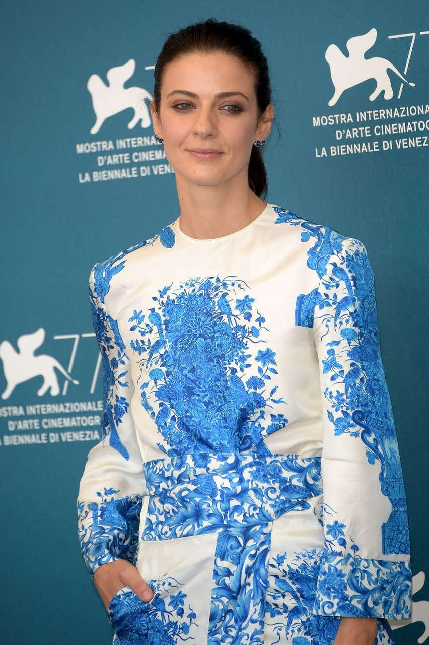Barbara Ronchi Padrenostro Photocall 77th Venice Film Festival