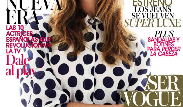 Behati Prinsloo Vogue Magazine Spain April 2014 Issue (10 photos)