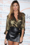 Belen Rodriguez Leggy Candids Short Skirt Linkem Gala Milan