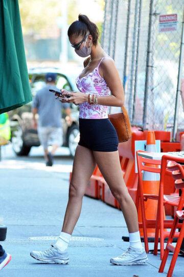 Bella Hadid Bar Pitti New York