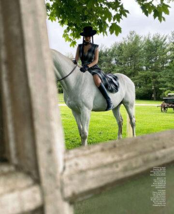 Bella Hadid Foe Elle Magazine August