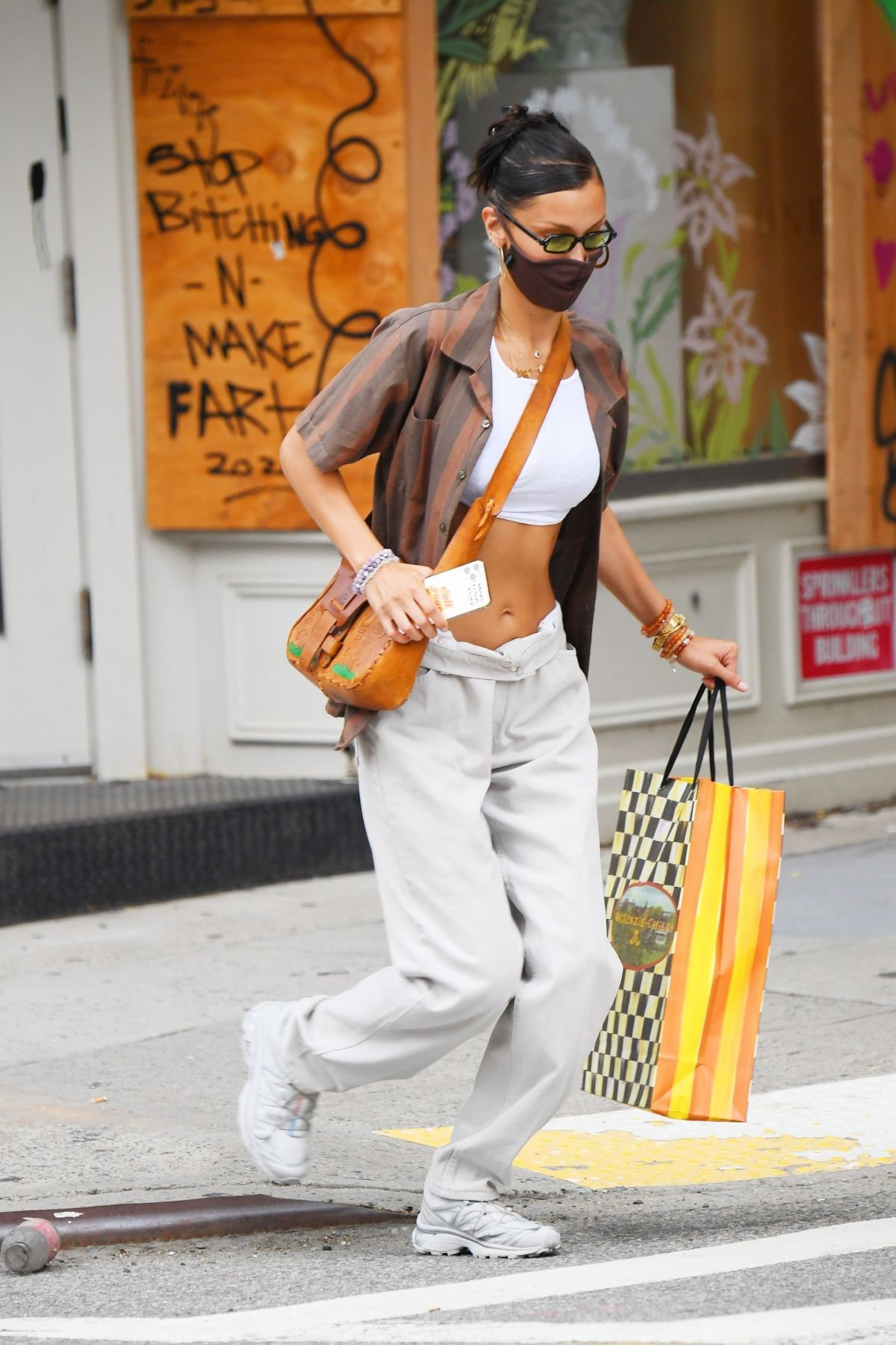 Bella Hadid Out Shopping New York
