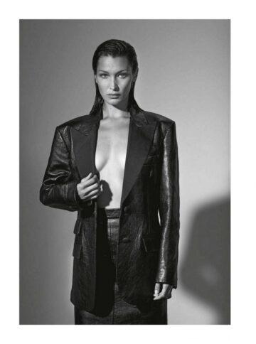 Bella Hadid Vogue Magazine Italy September