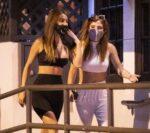 Bella Thorne Francesca Farago Night Out Los Angeles