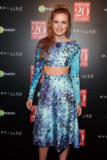 Bella Thorne Instyle 20th Anniversary Party New York