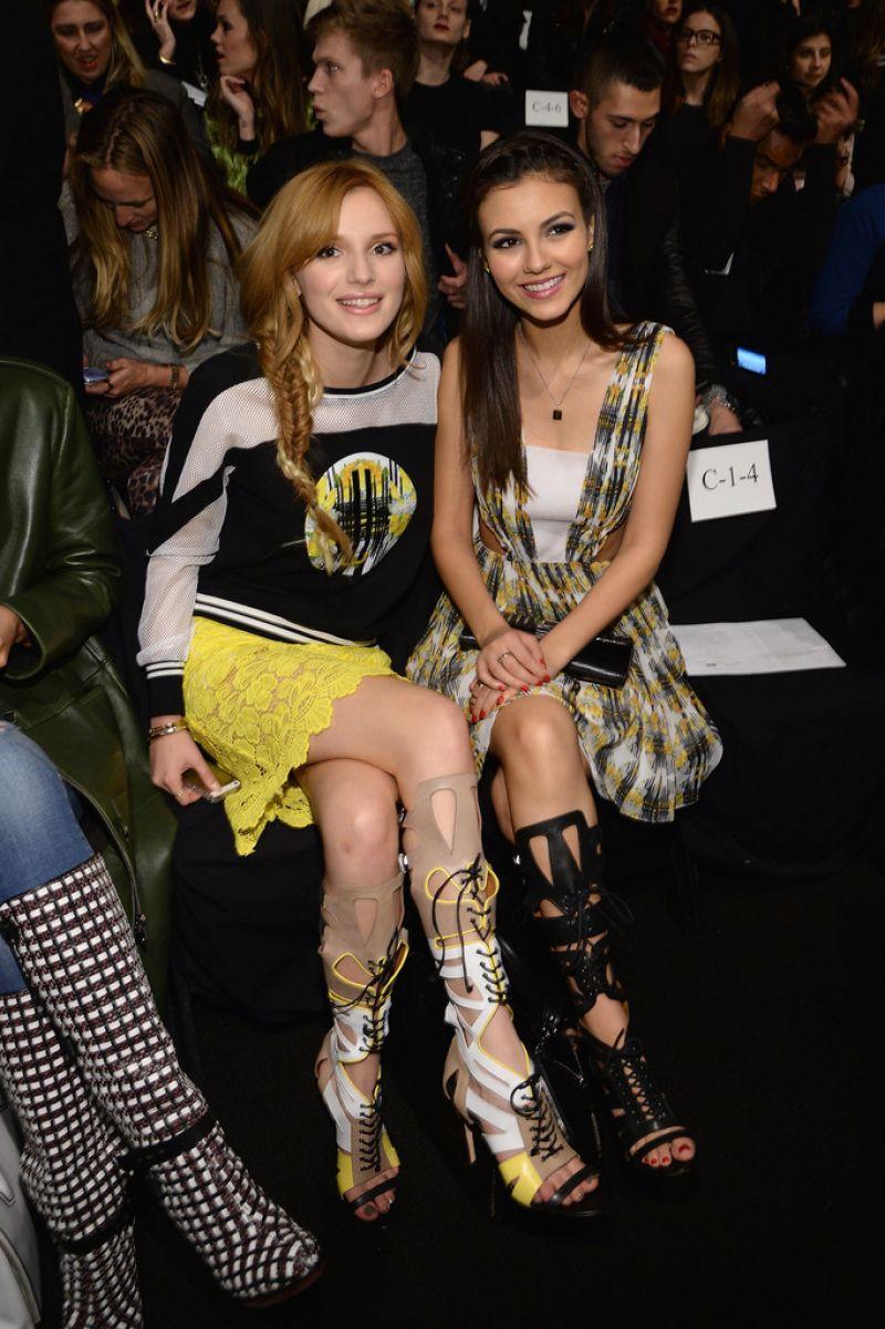 Bella Thorne Rebecca Minkoff Spring 2014 Fashion Show New York