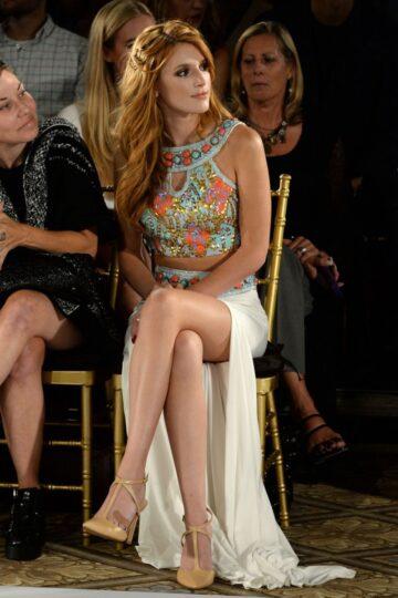Bella Thorne Sherri Hill Fashion Show New York