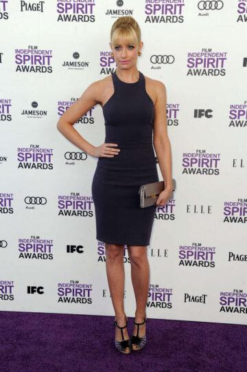 Beth Behrs 2012 Film Independent Spirit Awards Santa Monica