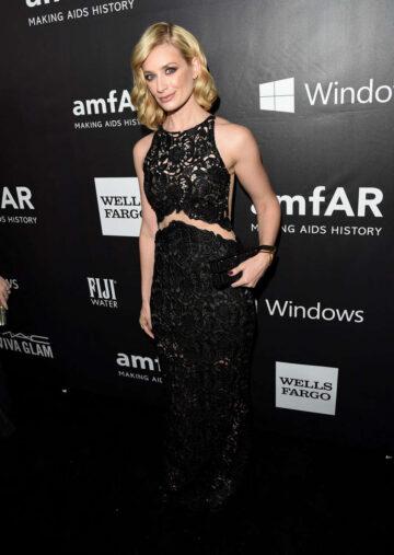 Beth Behrs 2014 Amfar La Inspiration Gala Hollywood