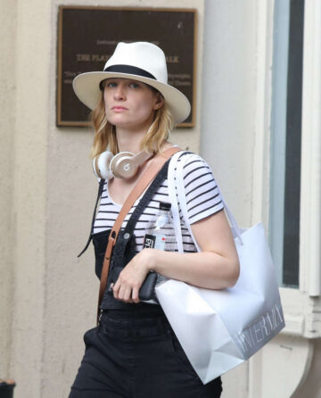 Beth Behrs Out Shopping New York