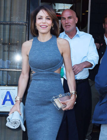 Bethenny Frankel Out About New York