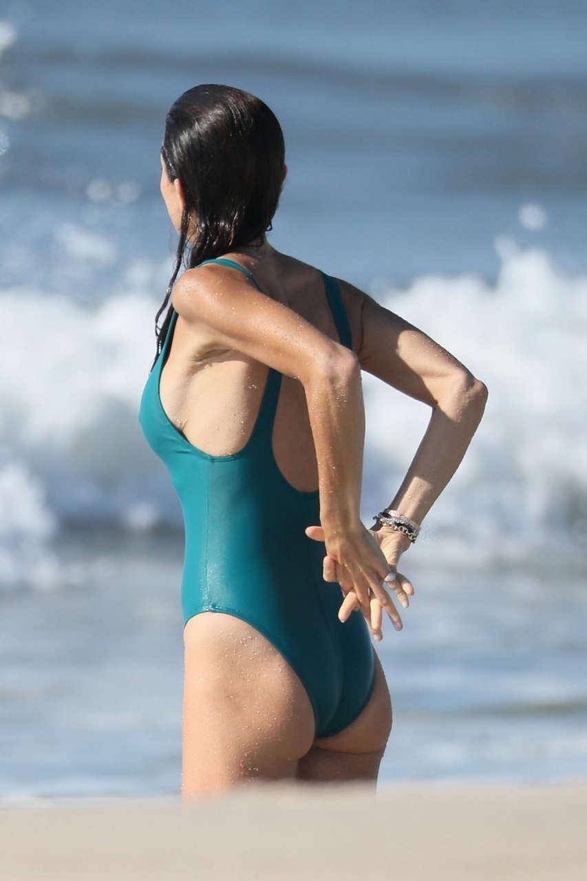Bethenny Frankel Swimsuit Beach Hamptons