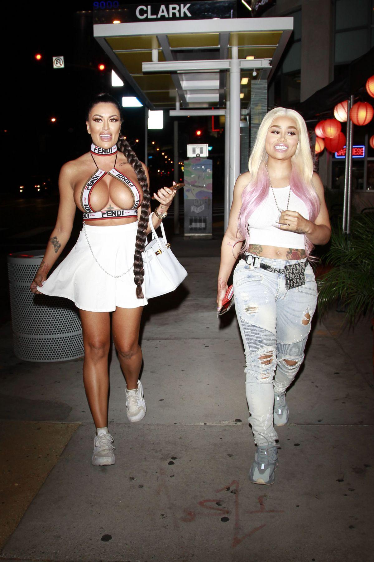 Blac Chyna Toochi Kash Night Out Hollywood