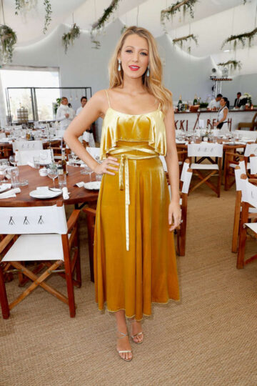 Blake Lively Amazon Studios Cafe Society Press Luncheon Canne S