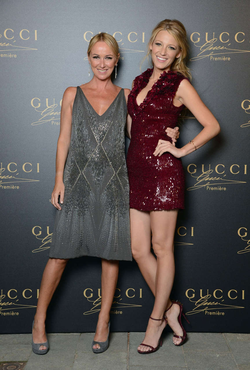Blake Lively Gucci Fragrance Launch Venice Italy