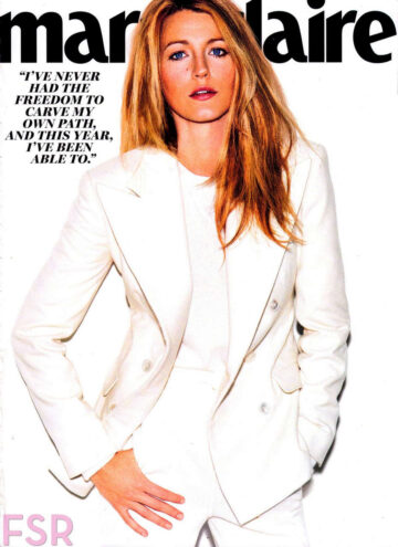 Blake Lively Marie Claire Magazine September 2014 Issue
