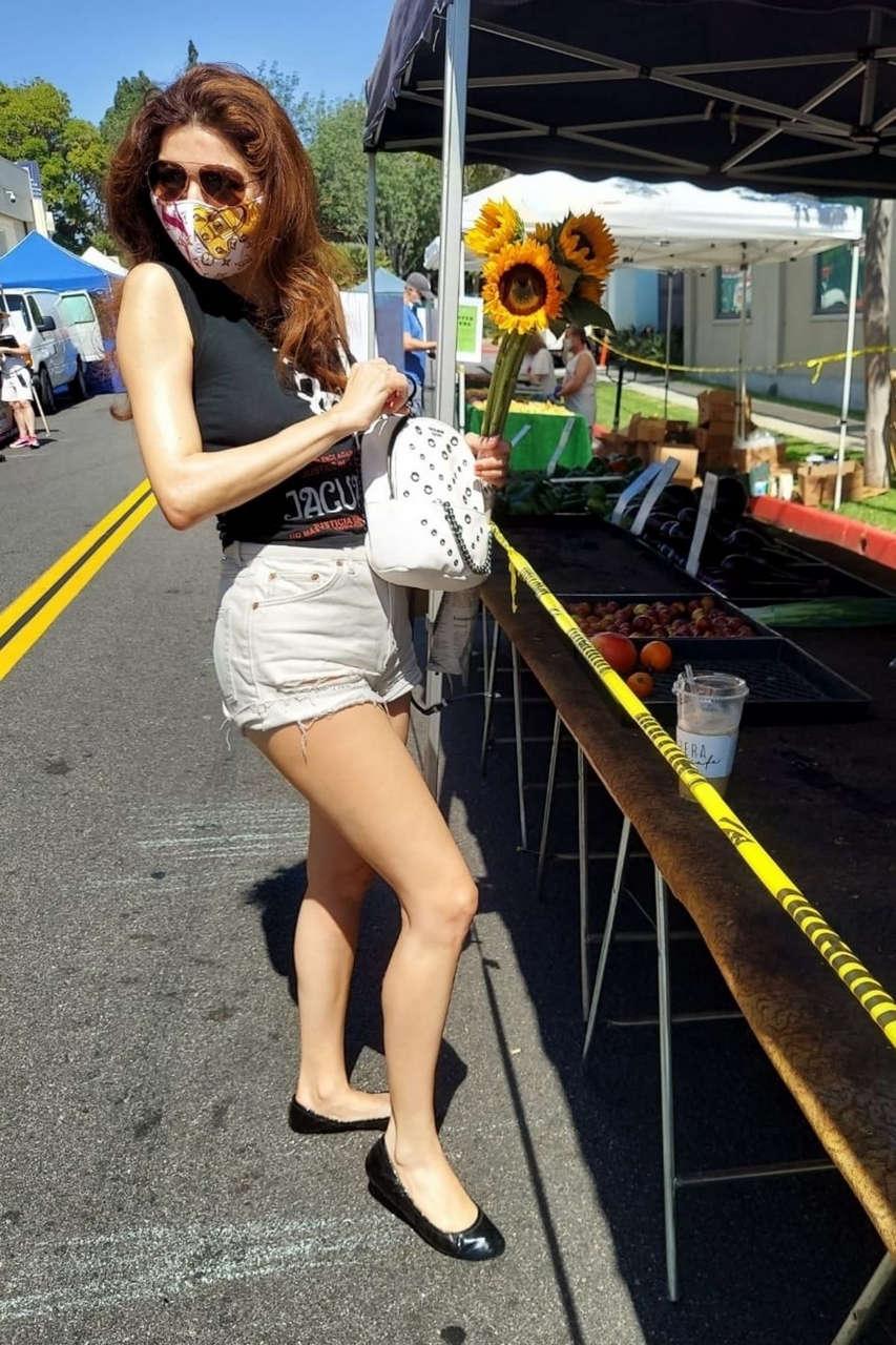 Blanca Blanco Farmers Market West Hollywood
