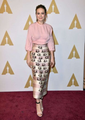 Brie Larson Academy Awards Nominee Luncheon Beverly Hills