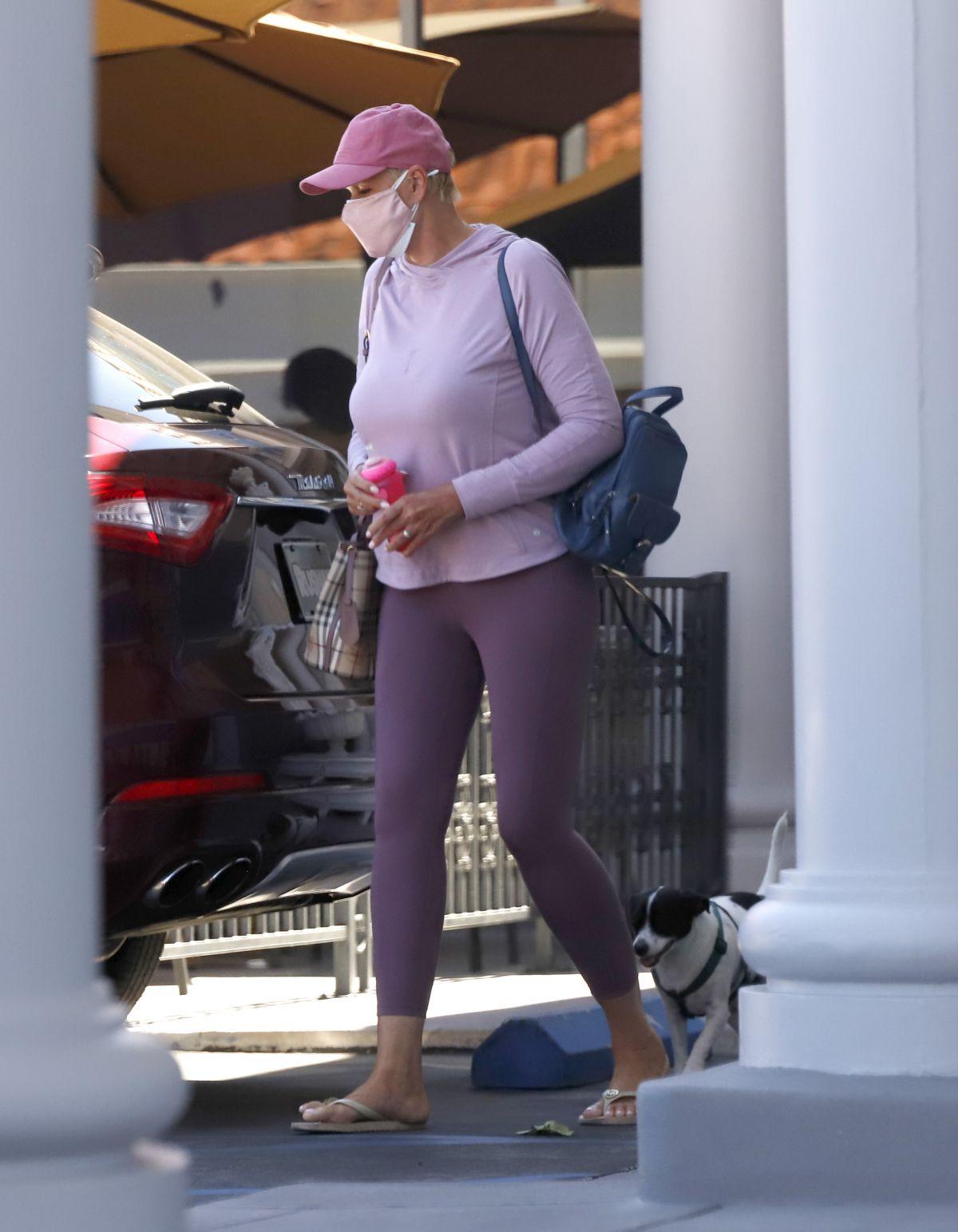 Brigitte Nielsen Out About Los Angeles