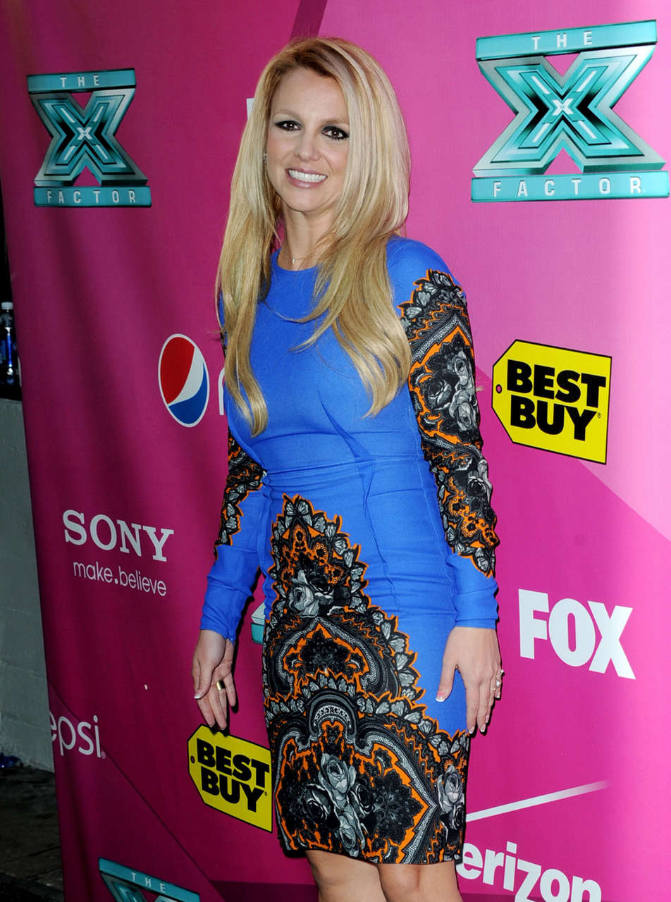 Britney Spears X Factor Season 2 Premiere Hollywood