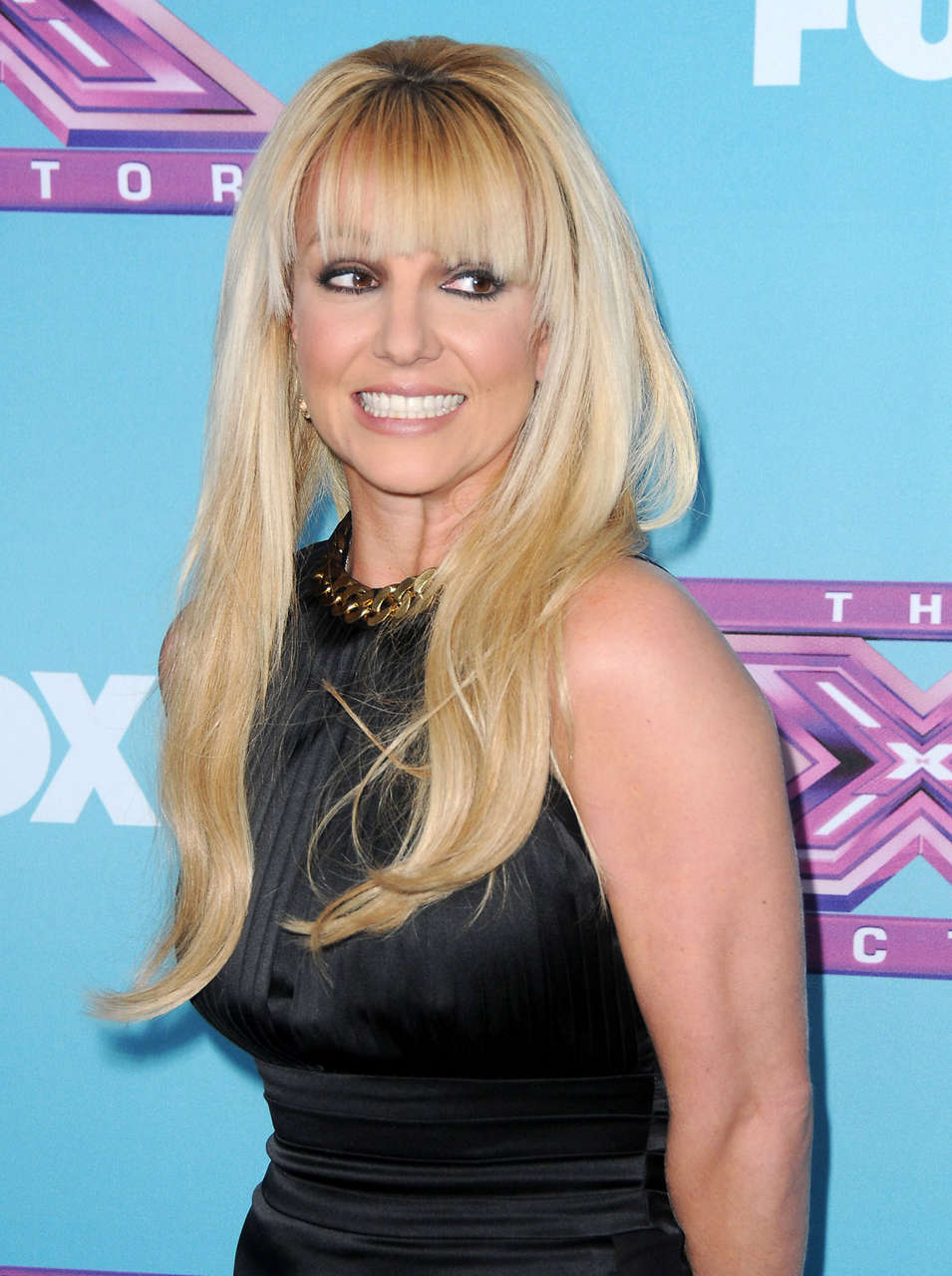 Britney Spears X Factor Season Finale News Conference Los Angeles