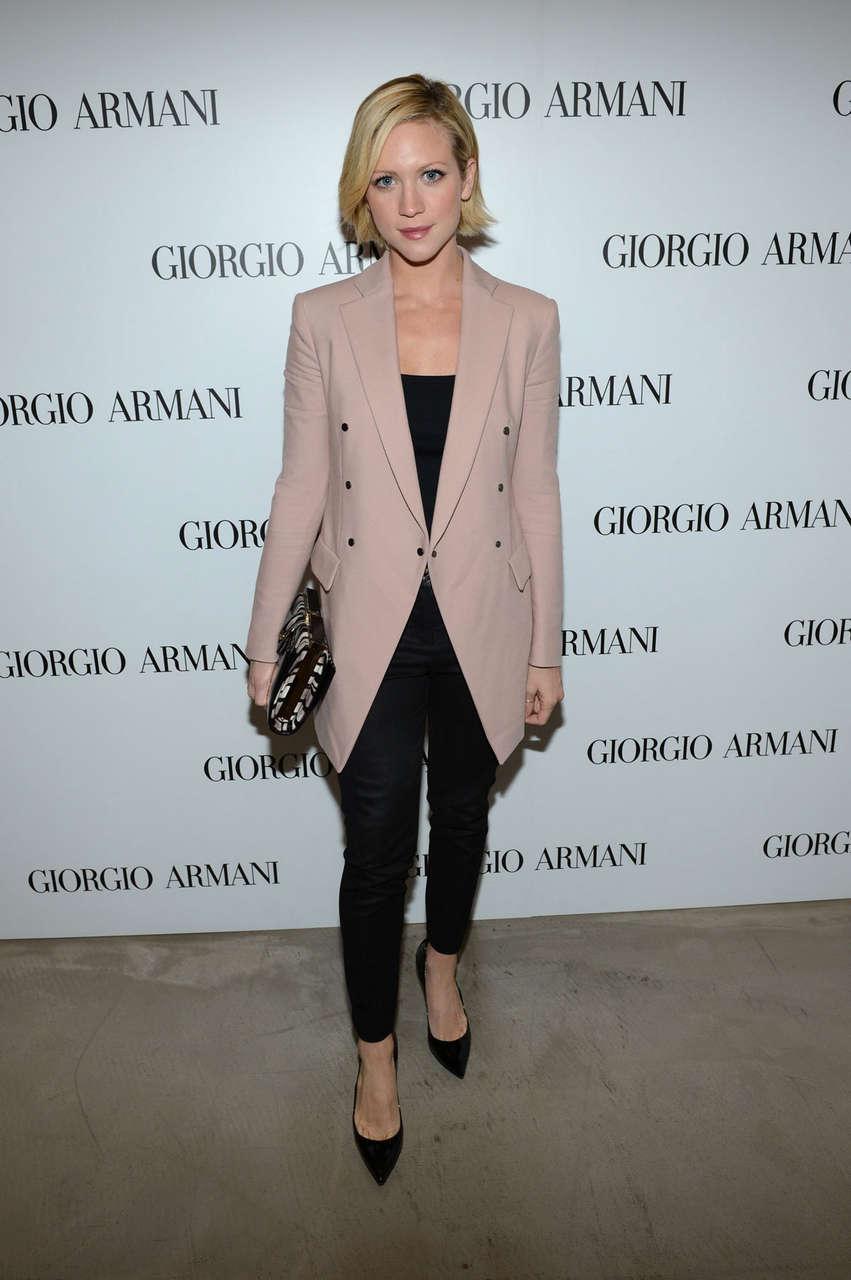Brittany Snow Giorgio Armani Beauty Luncheon Beverly Hills