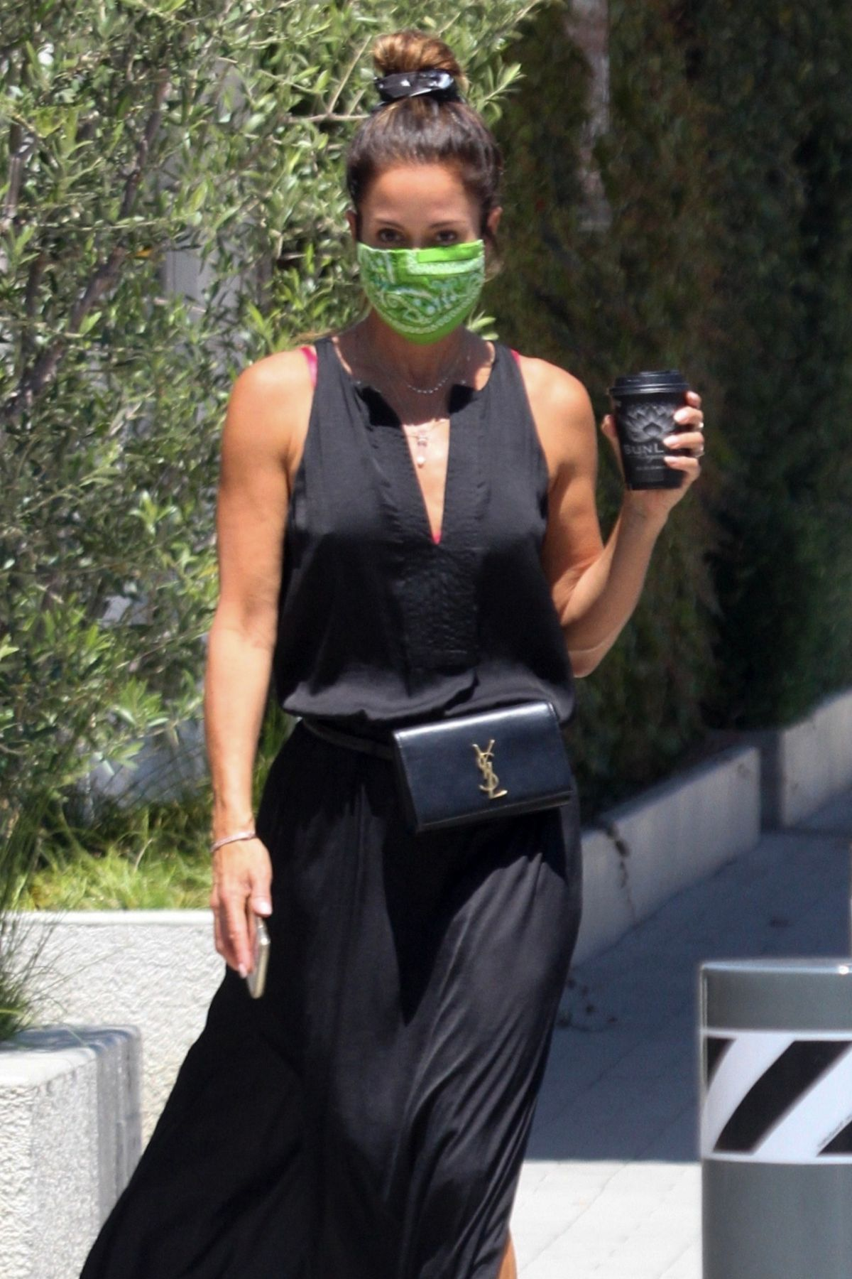 Brooke Burke Arrives Malibu Country Mart