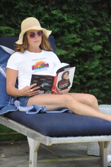 Brooke Shields Out Hamptons