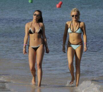 Brooke Vincent Katie Mcglynn Bikinis Beach Mallorca