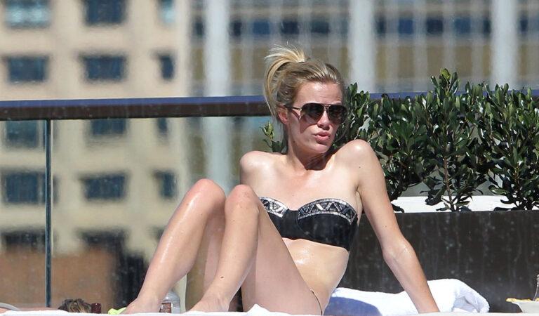 Brooklyn Decker Bikini Candids Pool Sydney (40 photos)